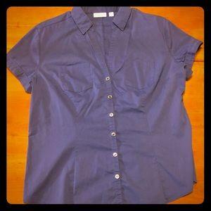 Ladies button down shirt